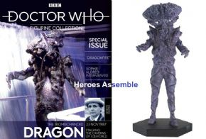 Doctor Who Figurine Collection Special #24 Biomechanoid Dragon Eaglemoss